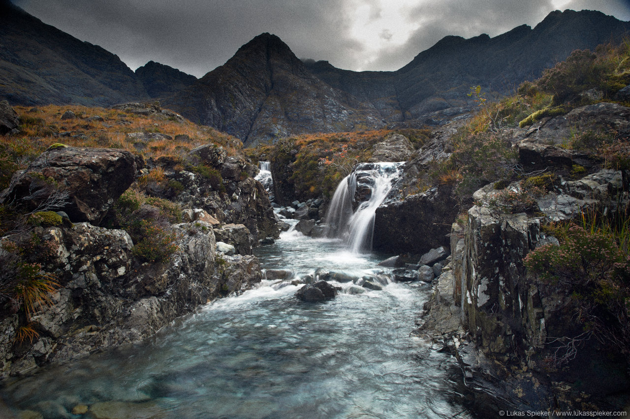 Fairy Pools and the Cuillins, Glen Brittle, Skye