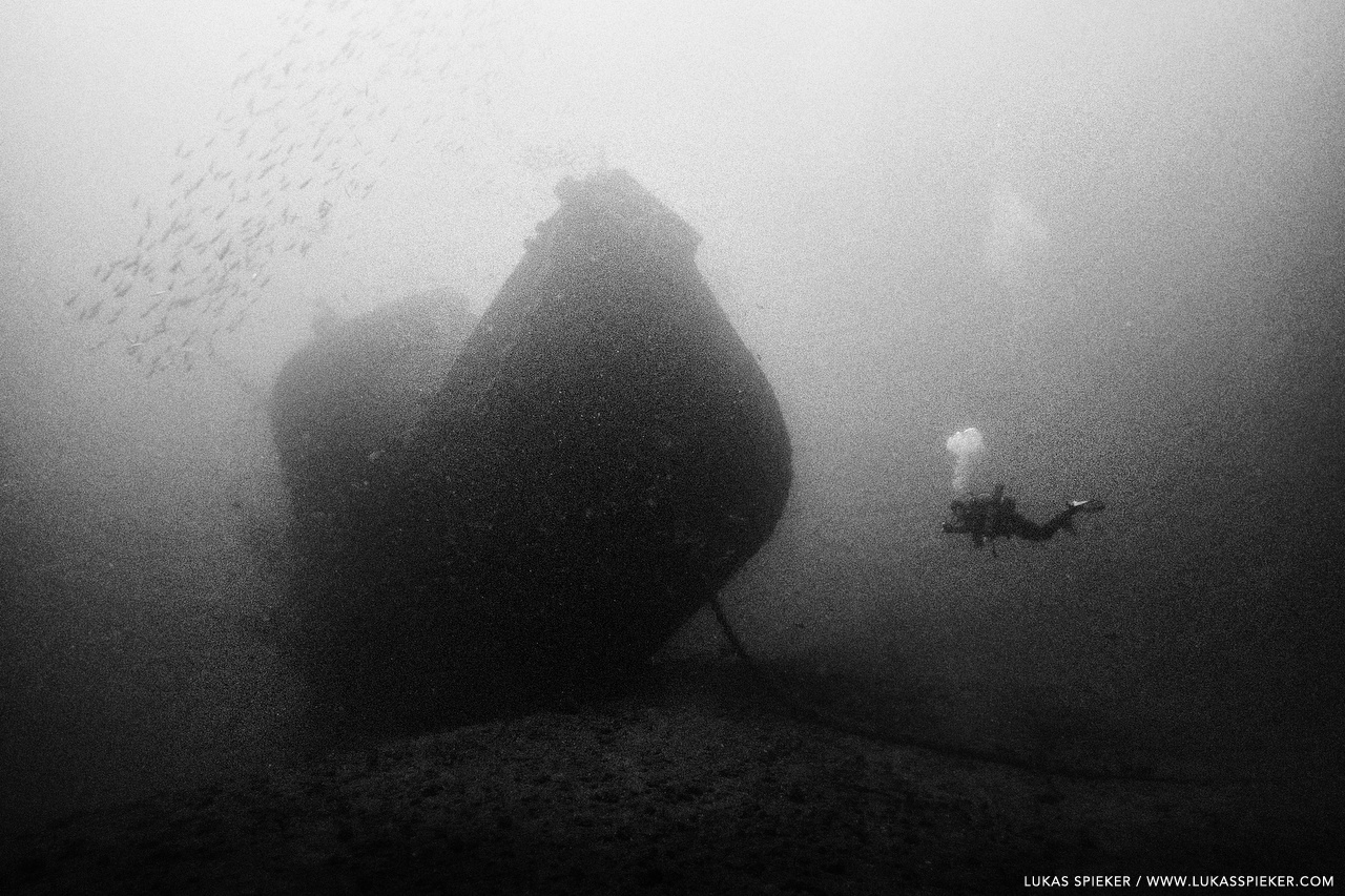 The wreck of the Penon.
